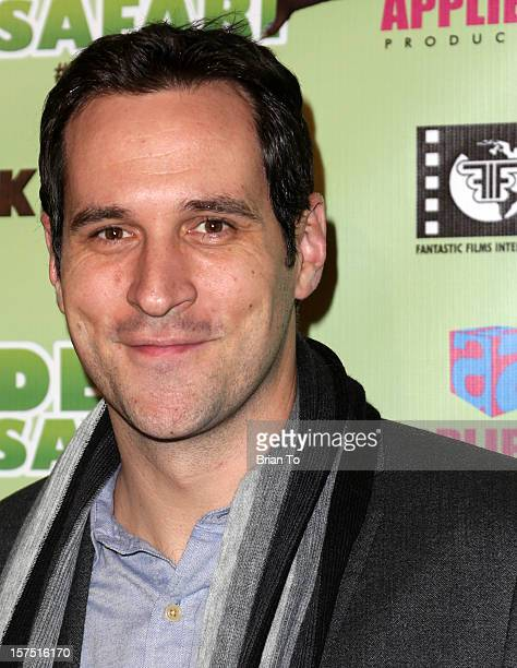 Travis Willingham attends 'Delhi Safari' Los Angeles premiere at Pacific Theatre at The Grove on December 3 2012 in Los Angeles California