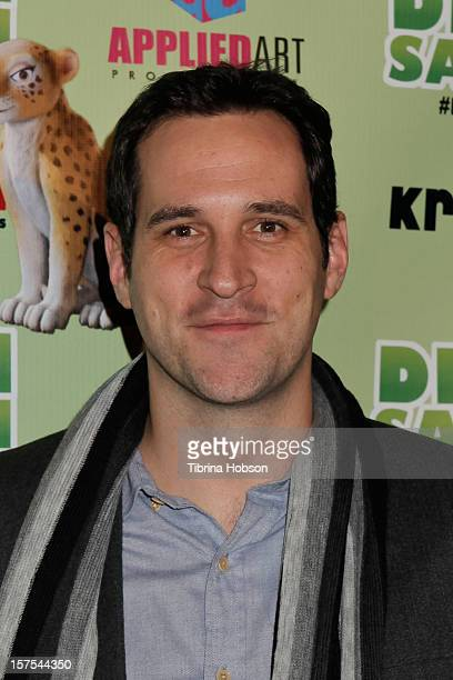 Travis Willingham attends the Delhi Safari Los Angeles premiere at Pacific Theatre at The Grove on December 3 2012 in Los Angeles California