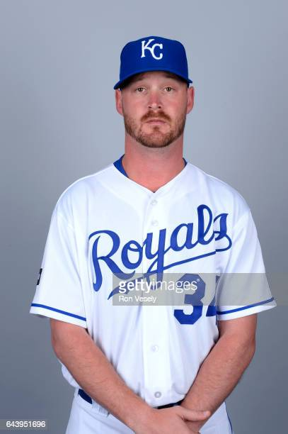 Travis Wood of the Kansas City Royals poses during Photo Day on Monday February 20 2017 at Surprise Stadium in Surprise Arizona