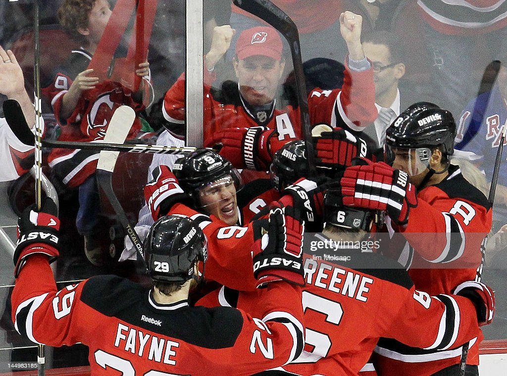New York Rangers v New Jersey Devils - Game Four : News Photo