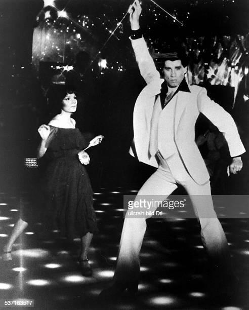 Travolta John Schauspieler USA im Film 'Saturday Night Fever' 1978
