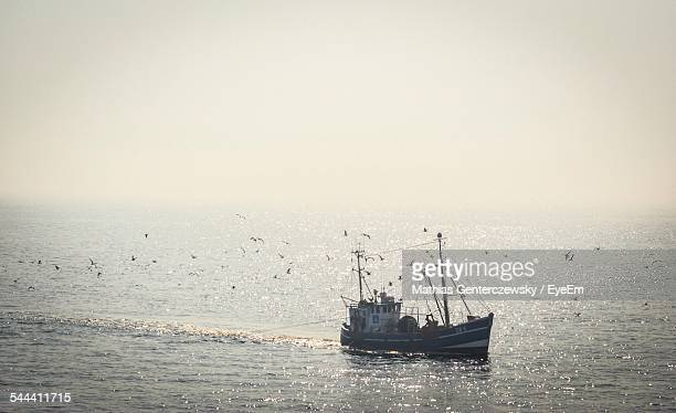 Trawler In Sea