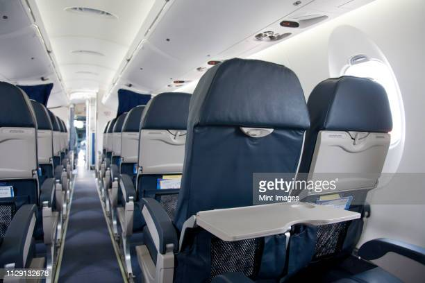 tray table on an airplane - seat stock pictures, royalty-free photos & images