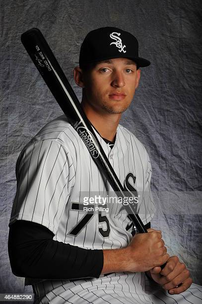 Trayce Thompson of the Chicago White Sox poses for a portrait during Photo Day on February 28 2015 at Camelback RanchGlendale in Glendale Arizona