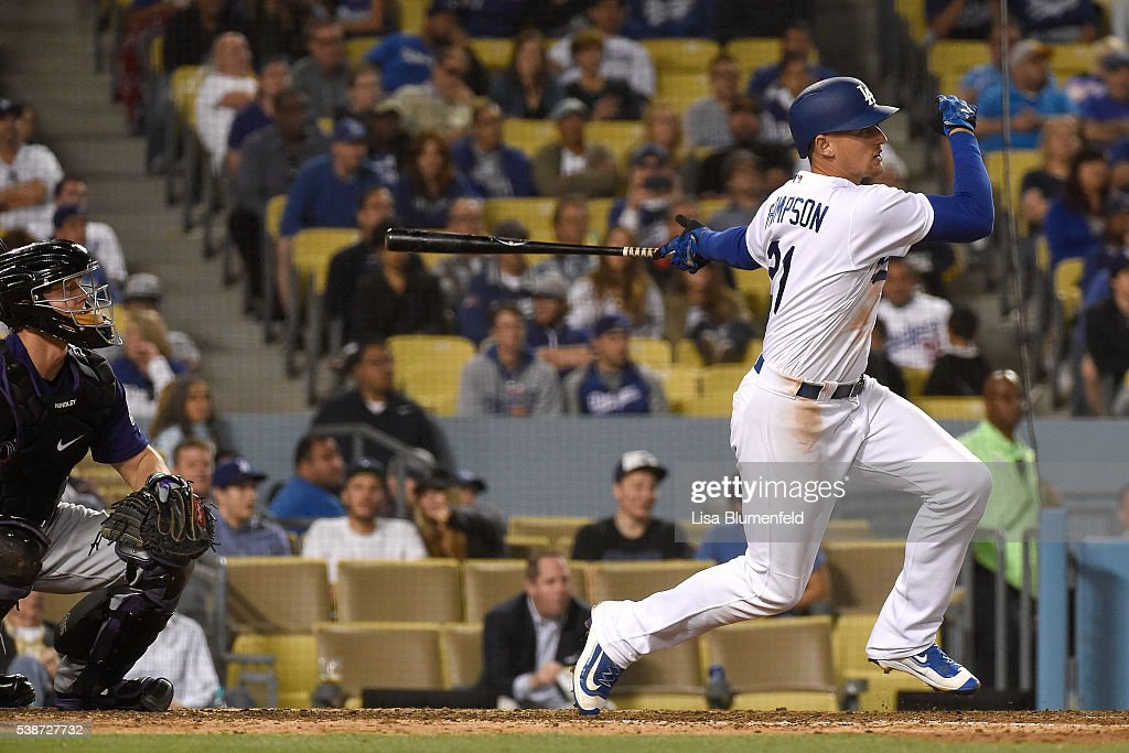 Colorado Rockies v Los Angeles Dodgers : News Photo