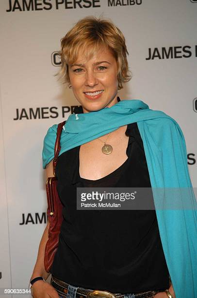 Traylor Howard attends James Perse Malibu Store Opening at James Perse Store on July 2 2005 in Malibu CA