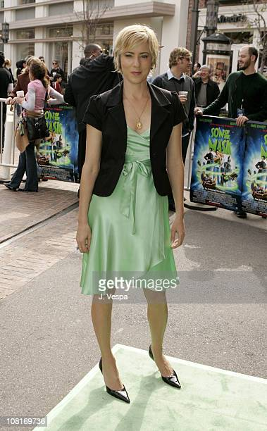Traylor Howard during Son of the Mask Los Angeles Premiere Green Carpet at The Grove in Los Angeles California United States