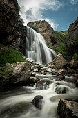 Trchkan Waterfall, Shirak Region, Armenia, Caucasus.