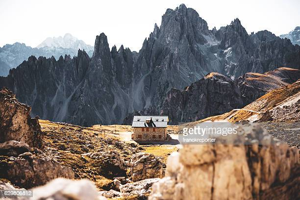 tre cime di lavaredo alps mountain landscape