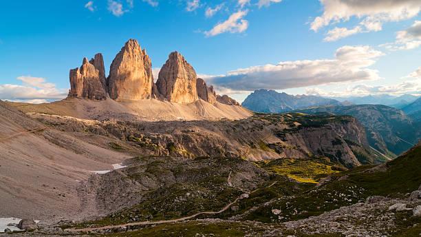 Tre Cime di Lavaredo, the most famous Dolomite peaks