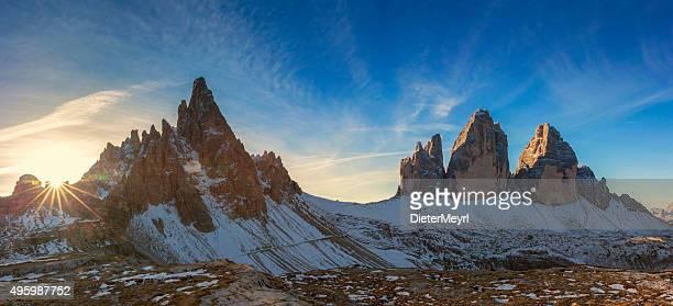 Tre Cime Panorama, Alpen-Dolomiten, Italien