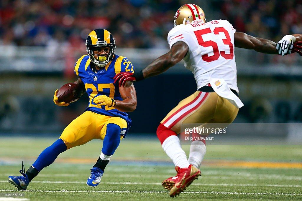 San Francisco 49ers v St Louis Rams