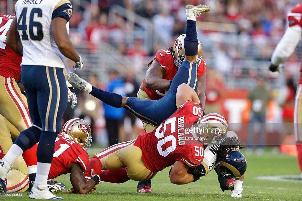 St Louis Rams v San Francisco 49ers