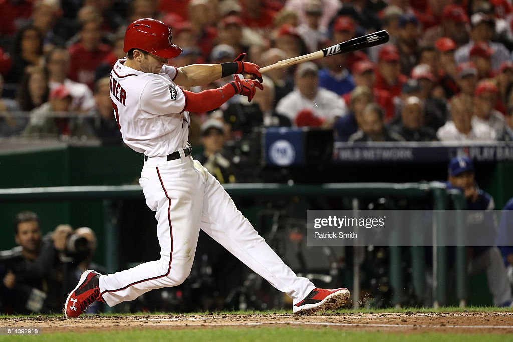 Division Series - Los Angeles Dodgers v Washington Nationals - Game Five : News Photo