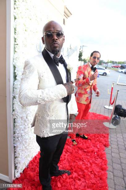 Treach and Suga J arrive at Waterside Reception Hall on September 08 2019 in North Bergen New Jersey