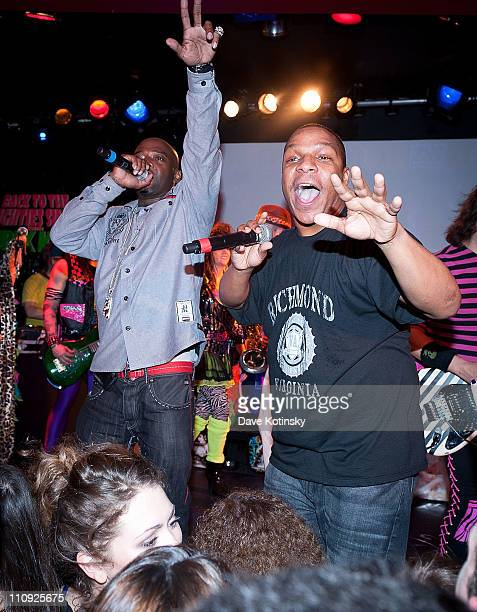Treach and Vin Rock perform at the Canal Room on March 26, 2011 in New York City.
