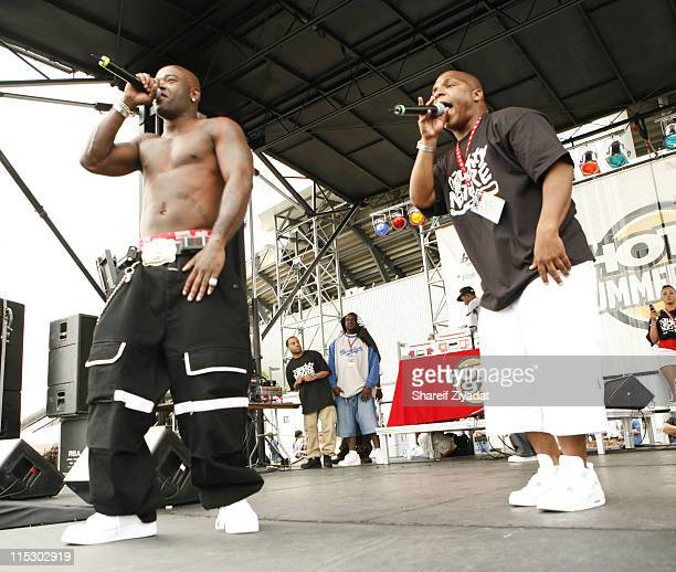 Treach and Vinnie during HOT 97 Summer Jam 2006 at Giants Stadium in East Rutherford New Jersey United States