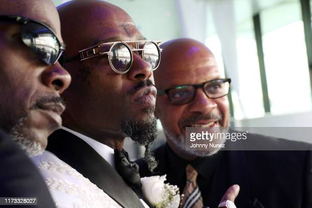 Treach celebrates his marriage at Waterside Reception Hall on September 08 2019 in North Bergen New Jersey