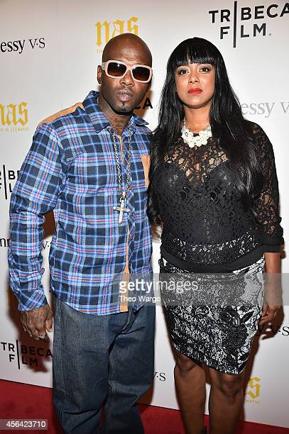 Treach Criss and Cicely Evans attend Nas Time Is Illmatic New York Premiere at Museum of Modern Art on September 30 2014 in New York City
