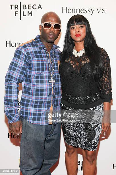 Treach Criss and Cicely Evans attend 'Nas Time Is Illmatic' New York Premiere at Museum of Modern Art on September 30 2014 in New York City