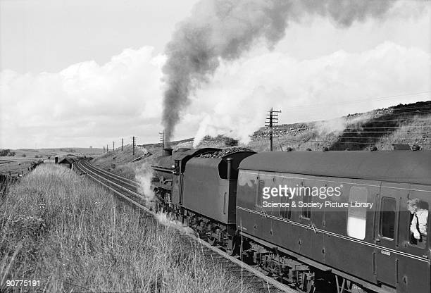 Treacy loved taking holidays in the Lake District and Shap was one of his favourite locations to photograph locomotives, with the Howgill fells in...