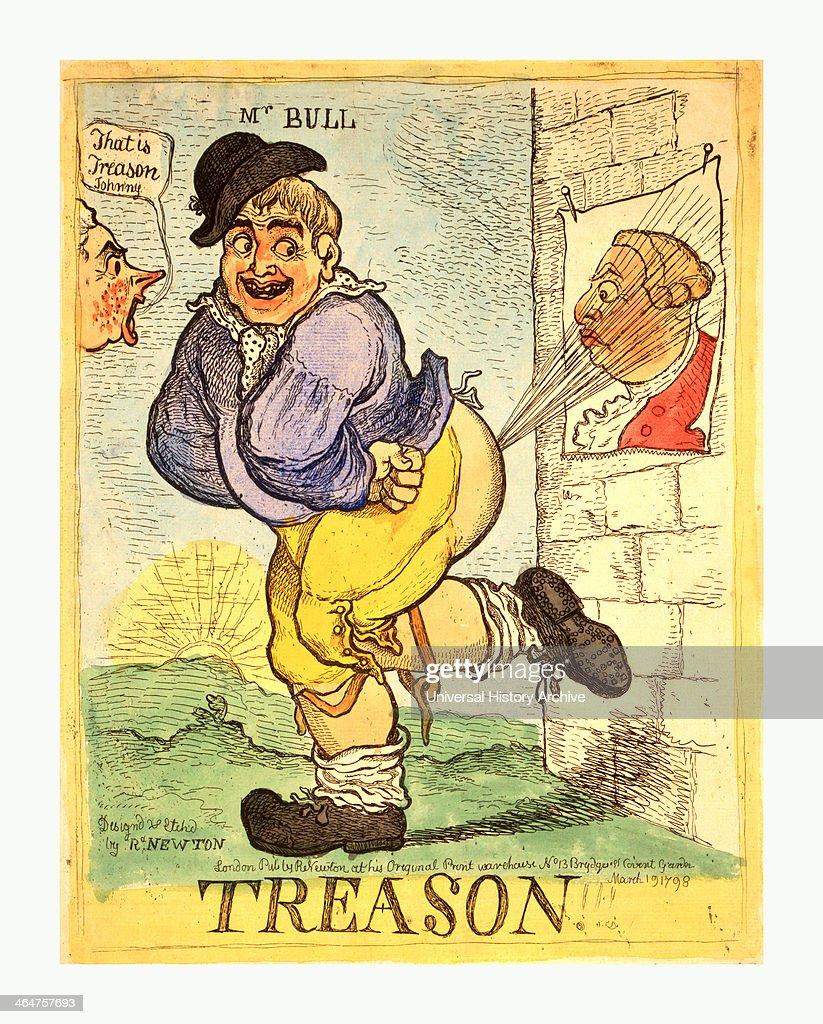 Treason : News Photo