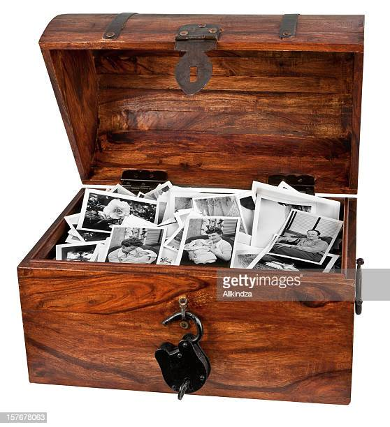 treasure chest of old photos