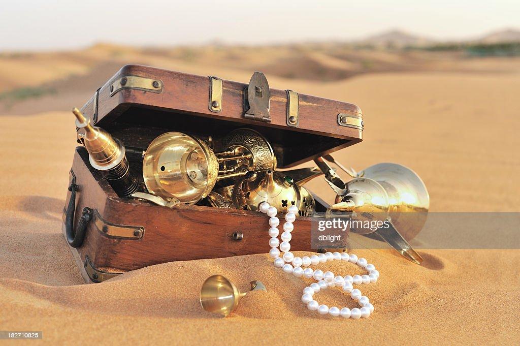 treasure hunt : Stock Photo
