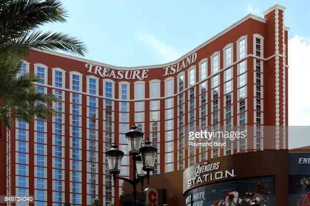 Treasure Island Hotel and Casino in Las Vegas Nevada on September 9 2017