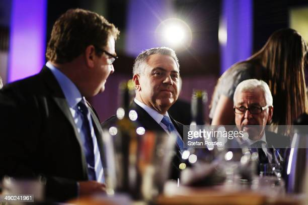 Treasurer Joe Hockey before delivering his post budget address at National Press Club on May 14 2014 in Canberra Australia Treasurer Joe Hockey last...