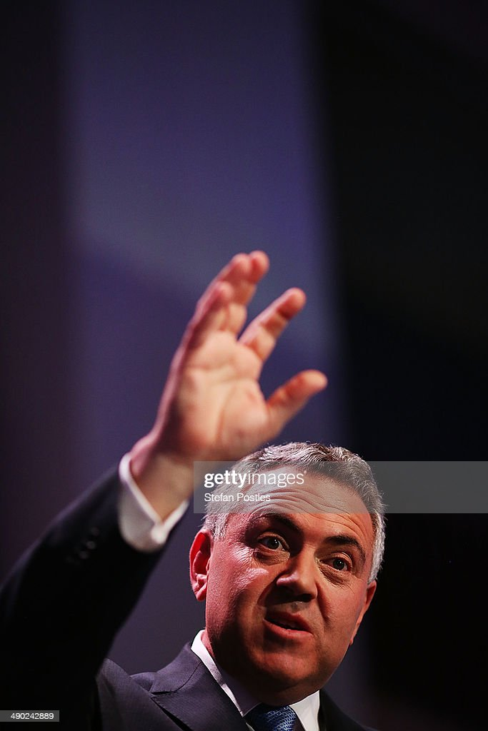Australian Treasurer Joe Hockey Delivers Post-Budget Address