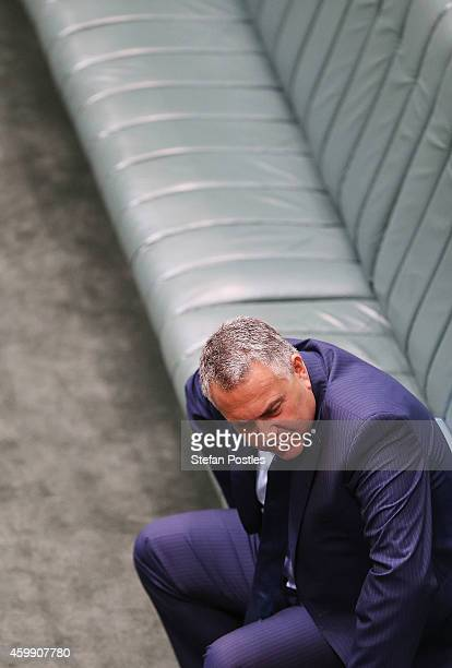Treasurer Joe Hockey during House of Representatives question time at Parliament House on December 4 2014 in Canberra Australia Today is the official...