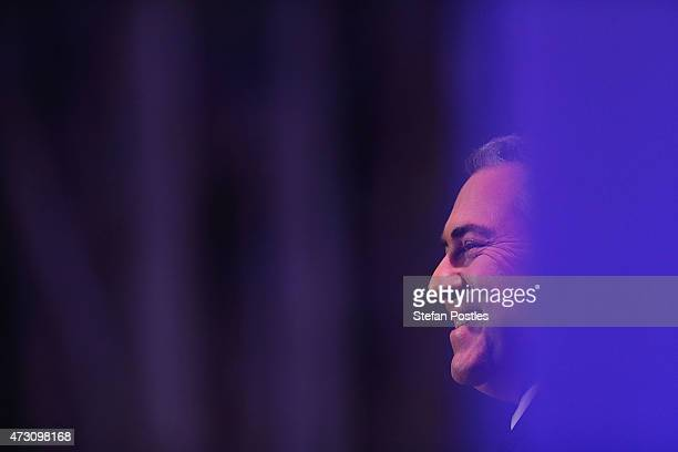 Treasurer Joe Hockey gives his post budget address at National Press Club on May 13 2015 in Canberra Australia The Abbott Government's second budget...