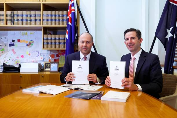 AUS: Australian Federal Budget Delivered In Canberra
