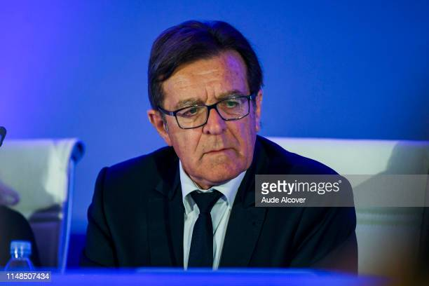 Treasurer of the French Football Federation and executive committee member Lionel Boland during the General Meeting of the French football federation...