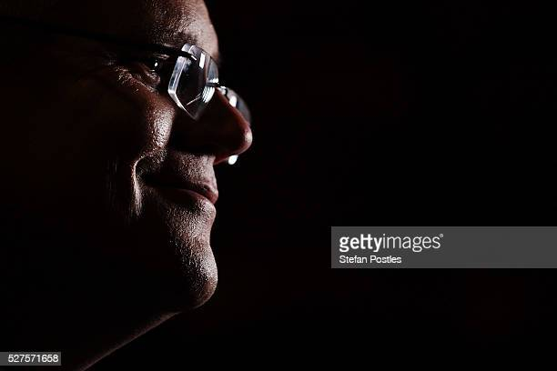 Treasurer Scott Morrison during TV interviews in the budget lockup at Parliament House on May 3 2016 in Canberra Australia The Coalition government...
