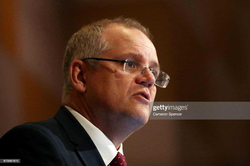 Treasurer Scott Morrison Delivers Pre-Budget Address