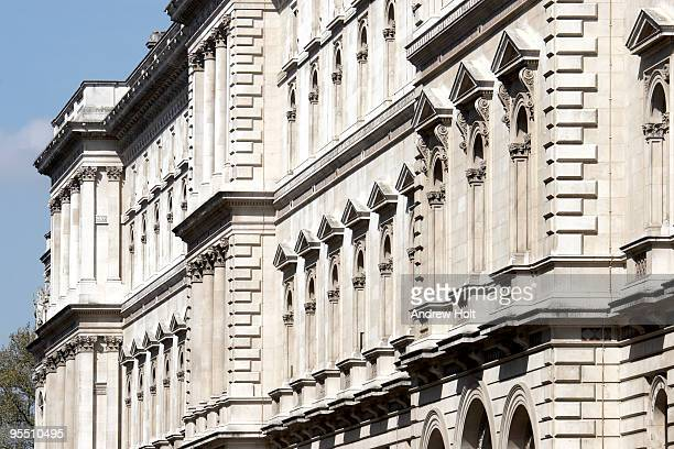 HM Treasury building, Westminster London