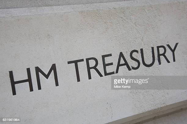 HM Treasury in London England United Kingdom HM Treasury is the governments economic and finance ministry maintaining control over public spending...