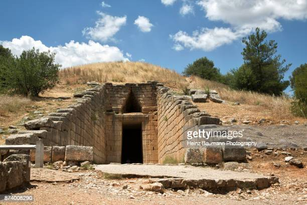Treasury of Atreus, Mycenae, Peloponnese, Greece, Mycenaean civilization