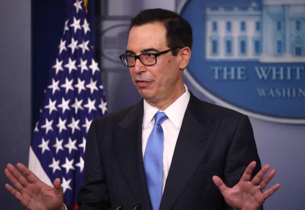 DC: Treasury Secretary Mnuchin Briefs Media On New Iran Sanctions