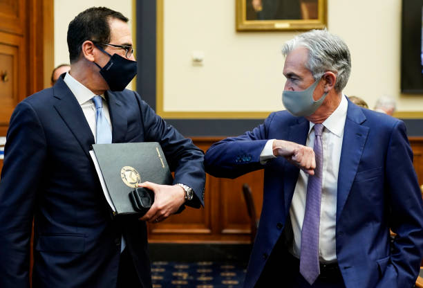 DC: House Holds Hearing On Treasury And Federal Reserve's Pandemic Response