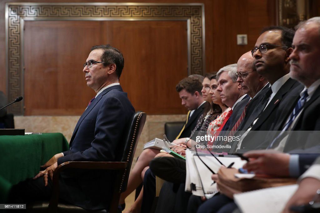 Treasury Secretary Steven Mnuchin Testifies To Senate Appropriations Committee On Department's Budget