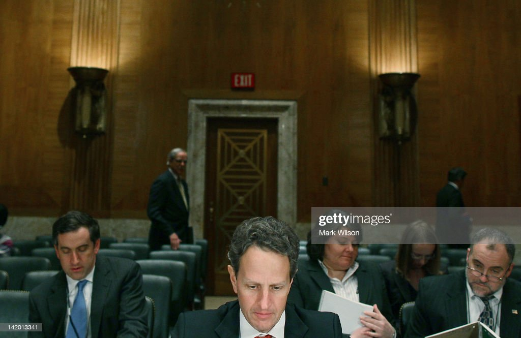 Treasury Secretary Geithner Testifies At Senate Appropriations Committee Hearing