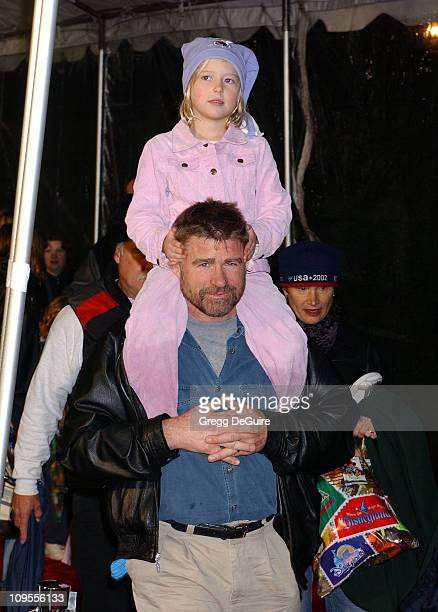 Treat Williams and daughter during Snow White An Enchanting New Musical Premiere Arrivals at Fantasyland Theatre at Disneyland in Anaheim California...
