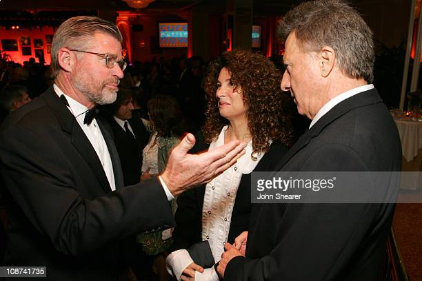 Treat Williams and Dustin Hoffman during Cure Autism Now's 10th Anniversary CAN DO Gala Presented by Cadillac VIP Reception at Regent Beverly...