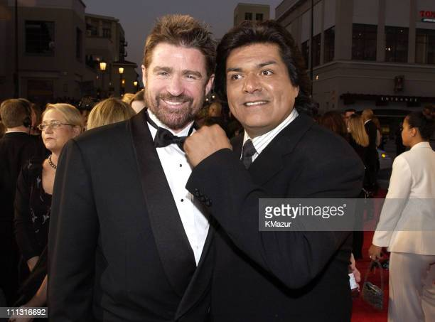 Treat Williams and George Lopez during The 29th Annual People's Choice Awards Arrivals at Pasadena Civic Auditorium in Pasadena California United...