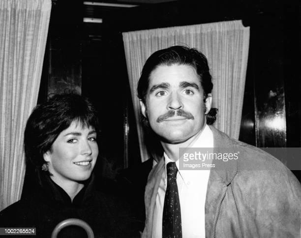 Treat Williams and girlfriend Dana Delaney circa 1980 in New York City