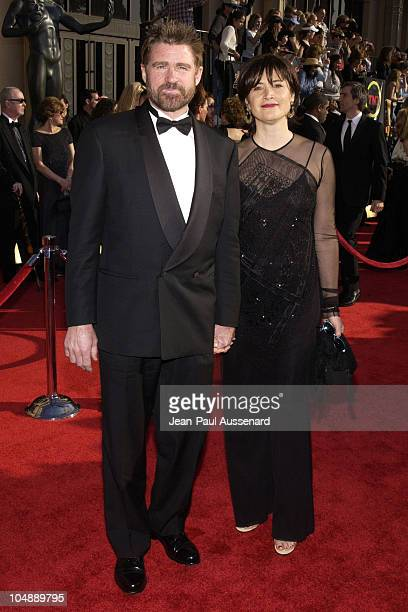 Treat Williams and guest during 9th Annual Screen Actors Guild Awards Arrivals at Shrine Exposition Center in Los Angeles California United States