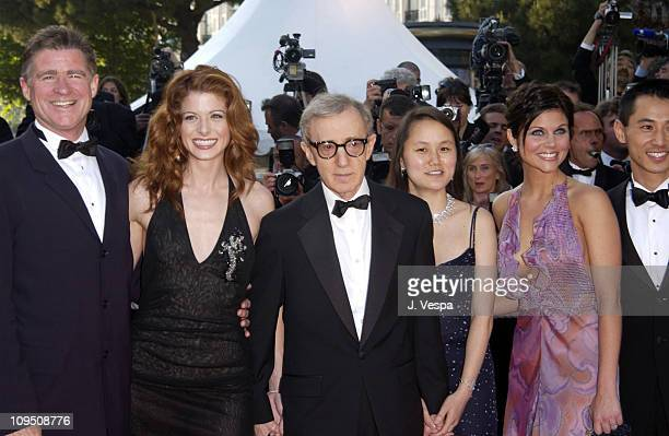 Treat Williams Debra Messing Woody Allen SoonYi Previn and Tiffani Thiessen